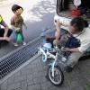 自転車がパンクした!多摩市で出張自転車屋さんを呼んでみたよ