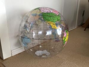 地球型のボール