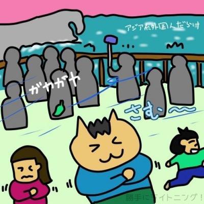 2月の沖縄は朝夕寒い